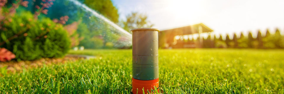 Highly-efficient lawn sprinkler 